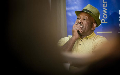 Eskom board chairperson Jabu Mabuza at a media briefing on 19 March 2019. Picture: Sethembiso Zulu/EWN.