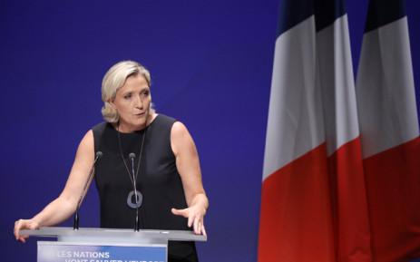 Marine Le Pen. Picture: @MLP_officiel/Twitter.