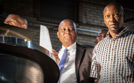 City of Johannesburg Mayor Herman Mashaba at the Marlboro Community Hall. Picture: Abigail Javier/EWN