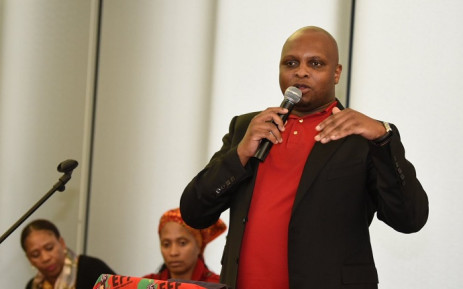 EFF deputy president Floyd Shivambu at the Buang Basadi event. Picture: @EFFSouthAfrica/Twitter