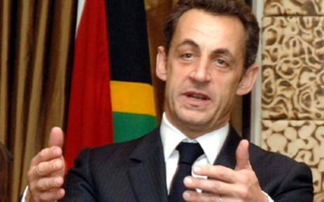 French President Nicolas Sarkozy.