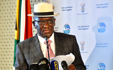 Police Minister Bheki Cele on 20 August 2021. Picture: SA Police Service/Twitter.