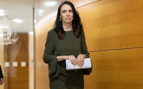 FILE: New Zealand's Prime Minister Jacinda Ardern arrives at a press conference to speak to the media about changing the 2020 general election date at the Parliament in Wellington on 17 August 2020. Picture: AFP.