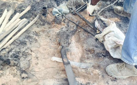 FILE: Equipment used at an illegal initiation school in Meadowlands. Picture: Dineo Bendile/EWN.