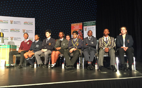 The top matriculants for 2015. Picture: Christa Eybers/EWN.