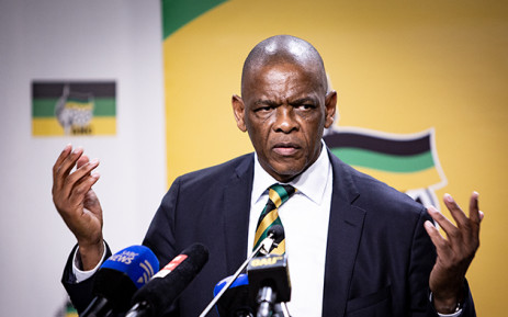 ANC Secretary-General Ace Magashule is seen during the ANC press conference on 1 August 2018 on the outcomes of the ANC NEC Lekgotla that was held on 30 to 31 July 2018 in Tshwane. Picture: Sethembiso Zulu/EWN