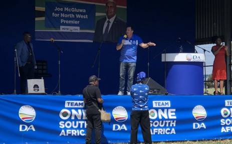 DA MP John Steenhuisen at the party's rally in Potchefstroom in the North West on 23 March 2019. Picture: Johni Steenkamp/Twitter