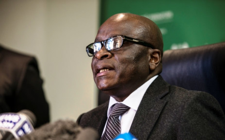 New Minister for Public Service and Administration. Ngoako Ramatlhodi. Picture: AFP.