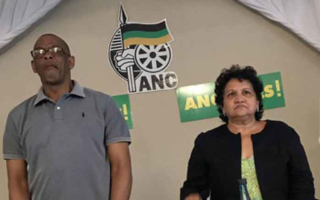 FILE: Ace Magashule and Jessie Duarte at the ANC provincial general council on 28 November 2017. Picture: Twitter/@MYANC