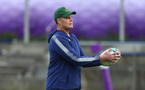 Springbok head coach Rassie Erasmus. Picture: @Springboks/Twitter
