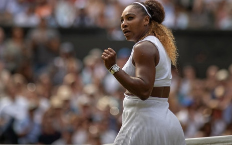 Serena powers past Osaka, Halep's title defence ends