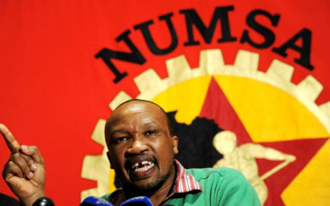 Numsa is facing suspension from Cosatu for its decision not to support the ANC during the 7 May elections. Picture: Sapa.