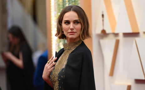US actress Natalie Portman arrives for the 92nd Oscars at the Dolby Theatre in Hollywood, California on 9 February 2020. Picture: AFP