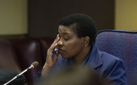 FILE: Advocate Nomgcobo Jiba at the Mokgoro inquiry on 21 February. Picture: Kayleen Morgan/EWN
