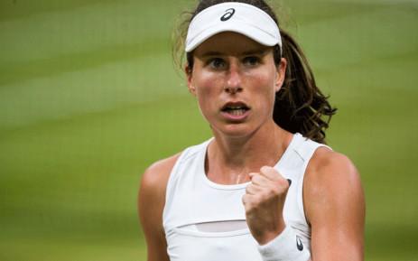 Johanna Konta. Picture: @Wimbledon