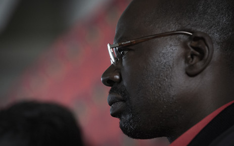 The SACP's Solly Mapaila at a Mandela Day event on 18 July 2019. Picture: Sethembiso Zulu/EWN
