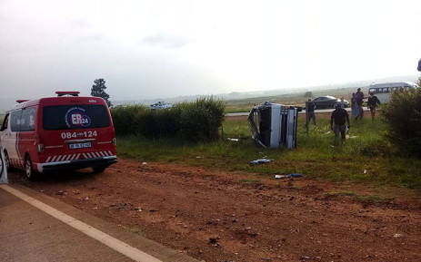 Four people were killed following a road crash in Grasmere, south of Johannesburg, on Friday 8 February 2019. Picture: Supplied.