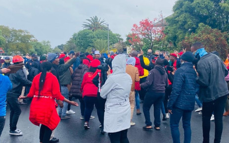 Man who fired airgun during clash with EFF in Brackenfell released on warning, Newsline