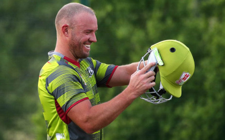 FILE: AB de Villiers in the colours of the Tshwane Spartans. Picture: @SpartansMSLT20/Twitter