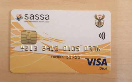 FILE: New Sassa cards. Picture: OfficialSASSA/Twitter.