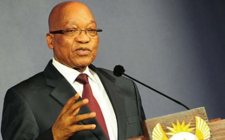 FILE: President Jacob Zuma attended the Presidential Indaba on youth jobs and skills in Boksburg on Sunday 2 March 2014. Picture: EWN.