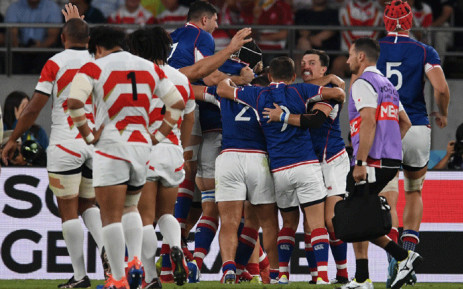 Japan vs Russia in the first match of the 2019 Rugby World Cup on 20 September 2019. Picture: @rugbyworldcup/EWN.