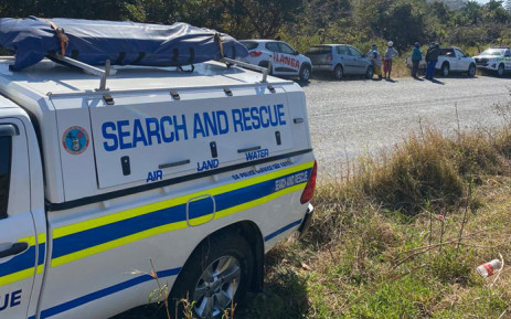 Port Shepstone police and various search and rescue units search the Mthwalume area on KwaZulu-Natal's south coast on 11 August 2020 after Hibberdene police were informed about a body that was found by locals. Another body was found on 12 August 2020. Picture: @SAPoliceService/Twitter
