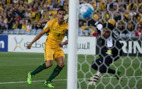 Tim Cahill (L). Picture: Twitter.
