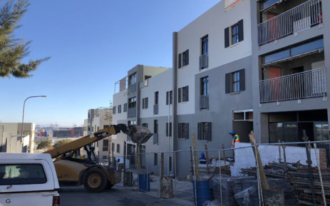 Homes in District Six being completed ahead of the land claimants returning to the area that their families were removed from during apartheid. Picture: Graig-Lee Smith/Eyewitness News