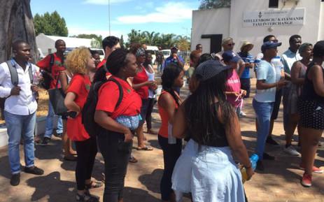 FILE: University of Stellenbosch. Picture: Siyabonga Sesant/EWN