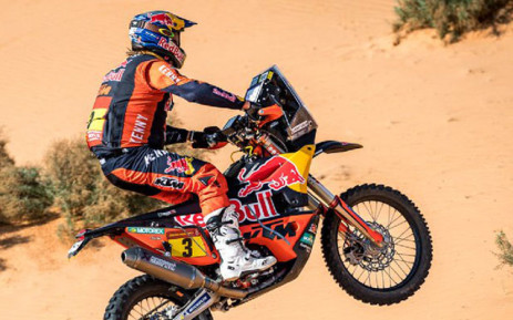 Two-time former motorbike champion Toby Price has withdrawn from the Dakar Rally. Picture: Twitter/@dakar.
