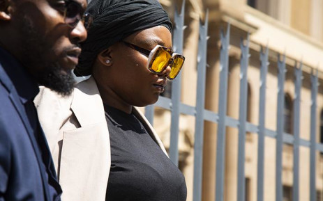 Lerato Sengadi at the Johannesburg High Court on 2 November 2018. Picture: Kayleen Morgan/EWN