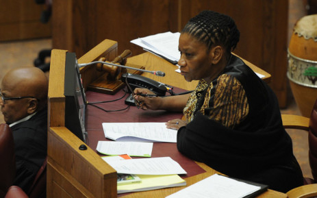FILE. The NSPCA is investigating allegations of animal neglect & cruelty on Thandi Modise's farm. Picture: Sapa.