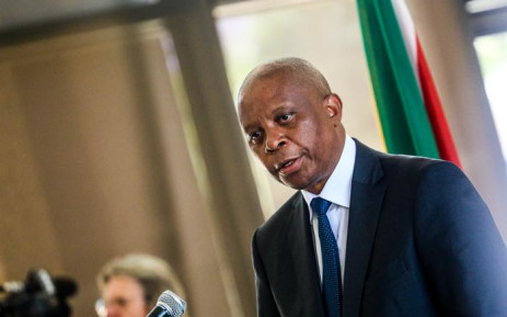 Herman Mashaba announces his resignation as Johannesburg Mayor on 21 October 2019. Picture: Kayleen Morgan/EWN