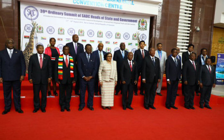 Southern African heads of state. Picture: @SADC_News/Twitter