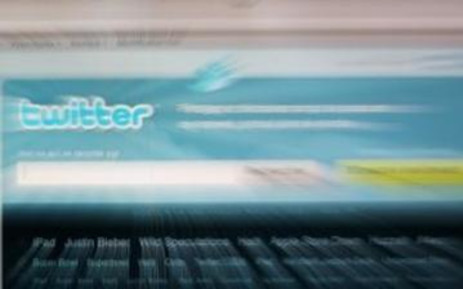 Social networking phenomenon - Twitter.com. Picture: AFP