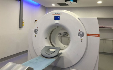 A view of the pet-CT scanner at Groote Schuur Hospital in Cape Town. Picture: Kevin Brandt/EWN.