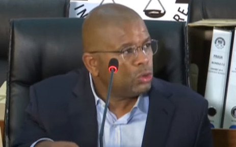 Former Passenger Rail Agency of South Africa (Prasa) CEO Lucky Montana at the state capture inquiry on 3 May 2021. Picture: SABC/YouTube