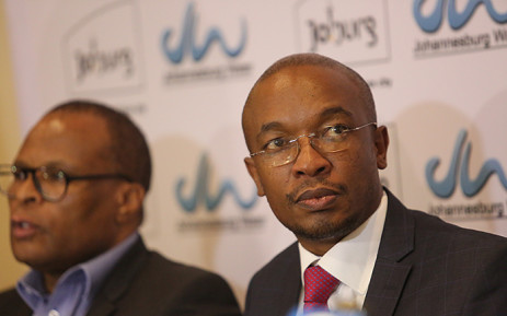 FILE: City of Johannesburg Mayor Parks Tau attended a briefing on the state of Johannesburg's water situation on 12 November 2015. Picture: Reinart Toerien/EWN.