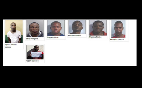 SAPS is searching for seven awaiting trial prisoners who escaped from holding cells in Limpopo. Picture: SAPS.