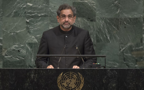 FILE: Pakistan Prime Minister Shahid Khaqan Abbasi. Picture: United Nations Photo.