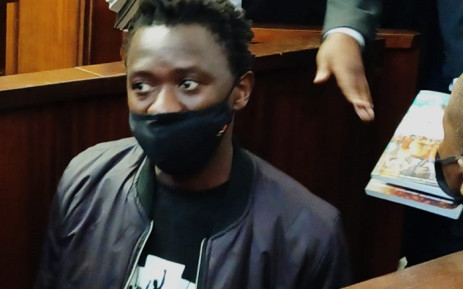 Madoda Hadebe, who is better known as Jackie Shandu, in the Durban Magistrates Court on 3 August 2021. Picture: Supplied.