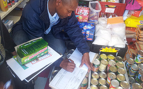 Street vendors have been warned to stop selling Two Step. Picture: Siyabonga Sesant/EWN