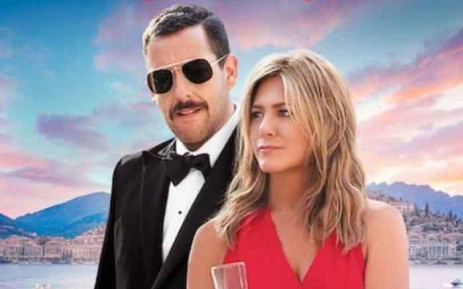 'Murder Mystery' stars Jennifer Aniston and Adam Sandler. Picture: Netflix