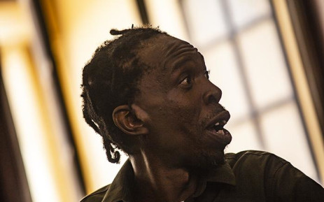 Hip-Hop artist Pitch Black Afro appears in the Johannesburg Magistrates Court on 15 January. Picture: Kayleen Morgan/EWN