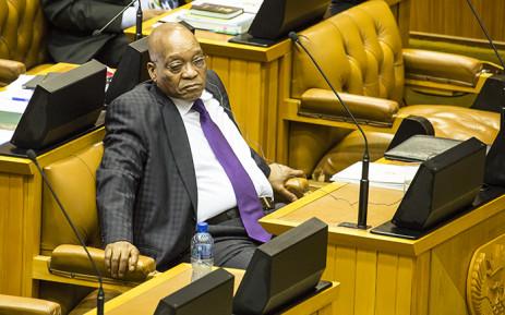 FILE: President Jacob Zuma in Parliament. Picture: Thomas Holder/EWN.
