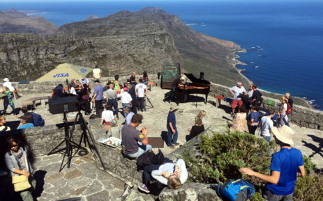 FILE: Capetonians celebrated World Piano Day with a free concert on Table Mountain. Picture: Monique Mortlock/EWN.