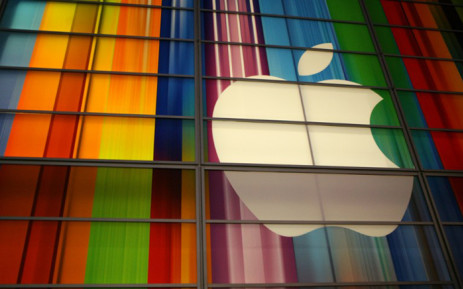 The Apple logo is seen in this 11 September, 2012 file photo at the Yerba Buena Center for Arts in San Francisco. Picture: AFP.