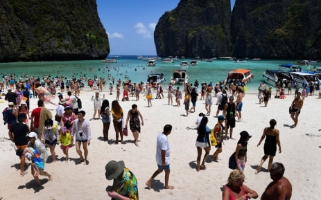 Maya Beach in Thailand. Picture: AFP