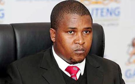 Gauteng MEC for Economic Development Nkosiphendule Kolisile. Picture: @NewsWallCoZa Via Twitter.